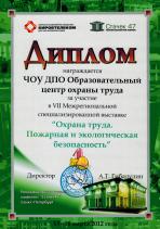 Diplom 2012